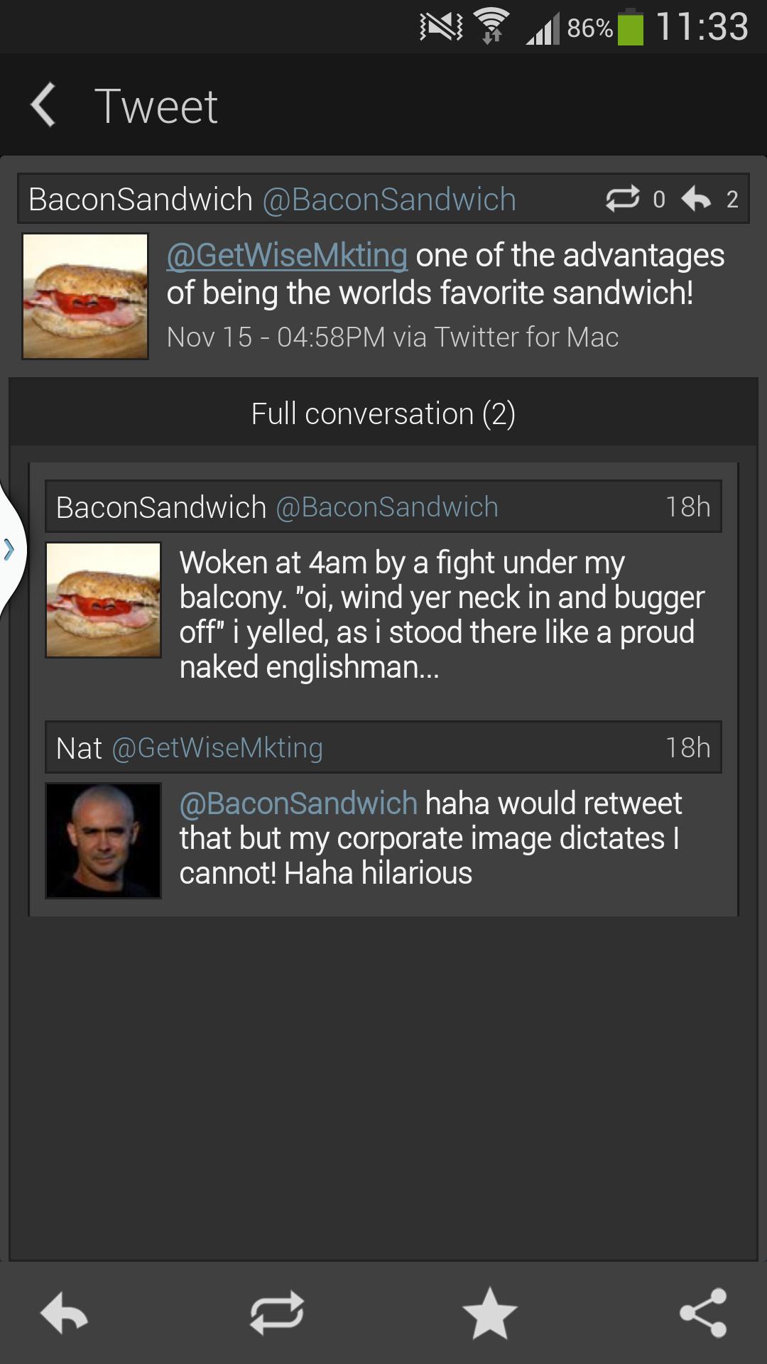 Twitter Conversation
